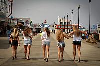 Seaside Heights, USA. 23th May 2014. People visit Seaside Heights As the summer season gets underway over the Memorial Day weekend. Kena Betancur/VIEWpress