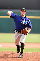 Norfolk Tides Mitch Wylie during an International League game at Dunn Tire Park on August 6, 2006 in Buffalo, New York.  (Mike Janes/Four Seam Images)