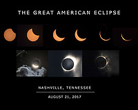 Great American Eclipse 2017 from Nashville, TN