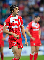 PICTURE BY CHRIS MANGNALL /SWPIX.COM...Rugby League - International Origin Match  - England v Exiles - Galpharm Stadium, Huddersfield, England  - 04/07/12... England's  Stefan Ratchford