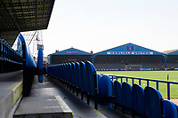 A general view of Brunton Park, home of Carlisle United FC<br /> <br /> Photographer Chris Vaughan/CameraSport<br /> <br /> The EFL Sky Bet League Two - Carlisle United v Lincoln City - Friday 19th April 2019 - Brunton Park - Carlisle<br /> <br /> World Copyright © 2019 CameraSport. All rights reserved. 43 Linden Ave. Countesthorpe. Leicester. England. LE8 5PG - Tel: +44 (0) 116 277 4147 - admin@camerasport.com - www.camerasport.com