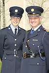 Attending the Garda graduations in Templemore on Thursday were proud dad Chief Supt.Pat Sullivan, Kerry Division and his graduating daughter Sarah from Tralee who is heading to Anglesea St.<br />  Photograph Liam Burke/Press 22
