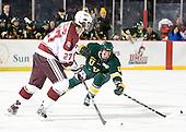 Adam Phillips (UMass - 27), H.T. Lenz (Vermont - 11) - The University of Massachusetts (Amherst) Minutemen defeated the University of Vermont Catamounts 3-2 in overtime on Saturday, January 7, 2012, at Fenway Park in Boston, Massachusetts.