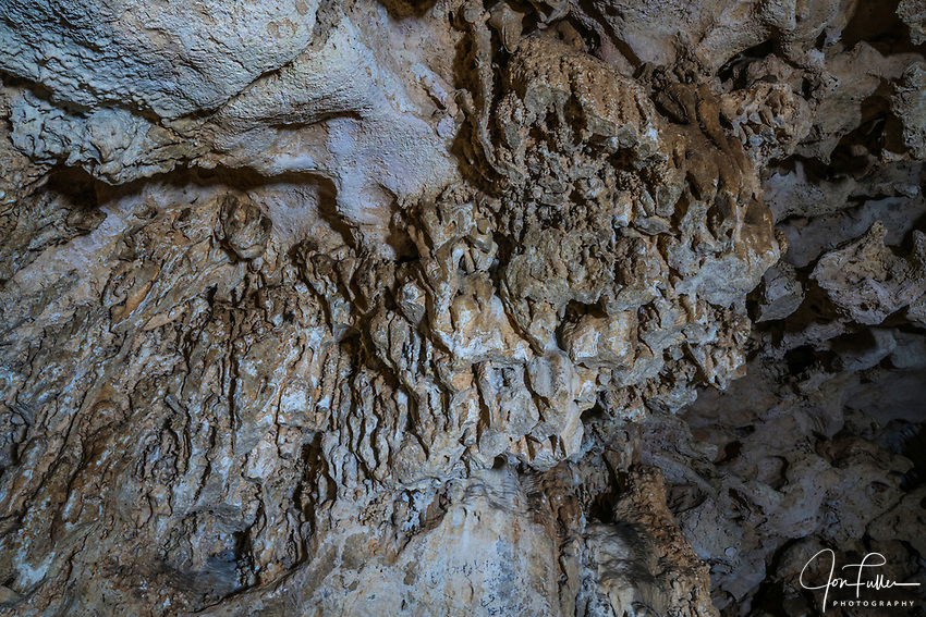 Beautiful mineral formations in the cavern of Cenote Xkeken near Dzitnup, Yucatan, Mexico.
