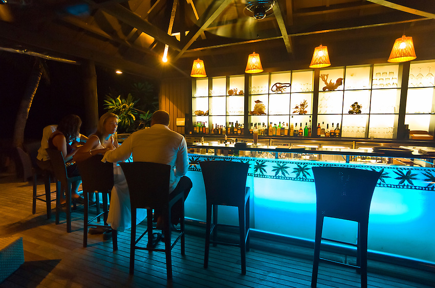 Bar, Vomo Island Resort, Fiji Islands