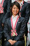 Yoko Tanaka (Leonessa), November 13, 2012 - Football / Soccer : Plenus Nadeshiko LEAGUE 2012 Award ceremony in Tokyo, Japan. (Photo by Yusuke Nakanishi/AFLO SPORT).