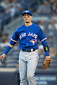Troy Tulowitzki (Blue Jays),<br /> AUGUST 7, 2015 - MLB :<br /> Troy Tulowitzki of the Toronto Blue Jays during the Major League Baseball game against the New York Yankees at Yankee Stadium in the Bronx, New York, United States. (Photo by Thomas Anderson/AFLO) (JAPANESE NEWSPAPER OUT)