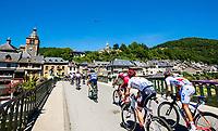 Picture by Alex Whitehead/SWpix.com - 16/07/2017 - Cycling - Le Tour de France - Stage 15, Laissac-Severac L'Eglise to Le Puy-En-Velay - The peloton in action.