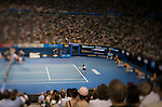 28 Jan 2009, Melbourne, Australia --- General view of the Rod Laver Arena during a Rafael Nadal's match on the Australian Open Tennis Grand Slam January 28, 2009 in Melbourne. Photo by © Victor Fraile / The Power of Sport Images