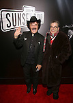 Randy Jones and Michael Musto attend the Broadway Opening Night of Sunset Boulevard' at the Palace Theatre Theatre on February 9, 2017 in New York City.