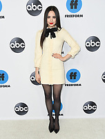 05 February 2019 - Pasadena, California - Sophia Carson. Disney ABC Television TCA Winter Press Tour 2019 held at The Langham Huntington Hotel. <br /> CAP/ADM/BT<br /> &copy;BT/ADM/Capital Pictures