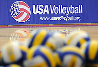 June 13, 2008 - Colorado Springs, CO...Women's Olympic Exhibition Volleyball action between Brazil and the USA.  Brazil is currently the world's top ranked team going into the Olympics later this summer.  Team USA is currently ranked 4th...Team USA upsets top ranked Brazil 3-2 in the second of a three-match exhibition series at the U.S. Olympic Training Center in Colorado Springs, Colorado...Larry Clouse/CSM....