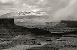 April 2011.  A Fierce Landscape.  Storm clouds over Canyonlands, Utah.