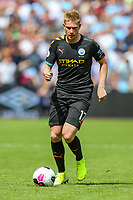 Kevin De Bruyne of Manchester City during the Premier League match between West Ham United and Manchester City at the London Stadium, London, England on 10 August 2019. Photo by David Horn.