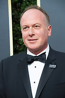 Nominated for BEST ANIMATED FILM for &quot;Boss Baby,&quot; director Tom McGrath arrives at the 75th Annual Golden Globes Awards at the Beverly Hilton in Beverly Hills, CA on Sunday, January 7, 2018. <br /> *Editorial Use Only*<br /> CAP/PLF/HFPA<br /> &copy;HFPA/Capital Pictures