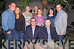 Ringing in the New Year in QC's Bar Restaurant in Cahersiveen on Monday night were front l-r; Sean O'Shea, Mike O'Driscoll, back l-r; John Alan O'Sullivan, Louisa Tang, Emma Louise Benson, Aoife O'Shea, Caroline Clifford, Kathleen & Vincent Devlin