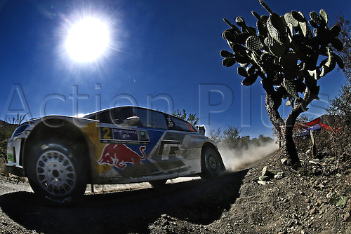06.03.2014. GUANAJUATO, Mexico. The World Rally Championships (WRC) of Mexico.  Jari-Matti Latvala (FIN) and Mikka Antilla (FIN) - Volkswagen Polo WRC