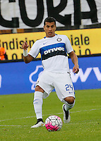 Jeison Murillo  during the  italian serie a soccer match,between Frosinone and Inter      at  the Matusa   stadium in Frosinone  Italy , April 09, 2016