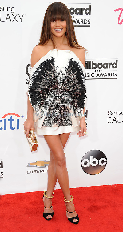 Christine Terigen arriving at the 'Billboard 2014 Music Awards' held at MGM Grand Hotel in Las Vegas Nevada. May 18, 2014.