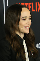"LOS ANGELES - FEB 12:  Ellen Page at the ""The Umbrella Academy"" Premiere at the ArcLight Hollywood on February 12, 2019 in Los Angeles, CA"