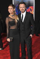 Aaron Paul &amp; wife Lauren Parsekian at the U.S. premiere of his movie &quot;Need for Speed&quot; at the TCL Chinese Theatre, Hollywood.<br /> March 6, 2014  Los Angeles, CA<br /> Picture: Paul Smith / Featureflash
