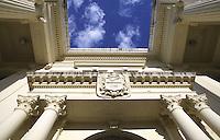 09 FEB 2003 - SANTA CLARA, CUBA - The library bulding .(PHOTO (C) NIGEL FARROW)