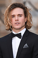 "Dougie Poynter<br /> arriving for the world premiere of ""Our Planet"" at the Natural History Museum, London<br /> <br /> ©Ash Knotek  D3491  04/04/2019"