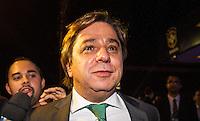 SAO PAULO, SP, 02 DE DEZEMBRO - PREMIO CRAQUE DO BRASILEIRÃO - Presidente do Palmeiras Arnaldo Tinoni durante a cerimônia da Premiação Brasileirão 2012, na casa de shows HSBC Arena, na zona sul de São Paulo, nesta segunda-feira FOTO: VANESSA CARVALHO - BRAZIL PHOTO PRESS.