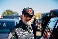 Jul 28, 2017; Sonoma, CA, USA; Jesse James , husband of NHRA funny car driver Alexis DeJoria during qualifying for the Sonoma Nationals at Sonoma Raceway. Mandatory Credit: Mark J. Rebilas-USA TODAY Sports