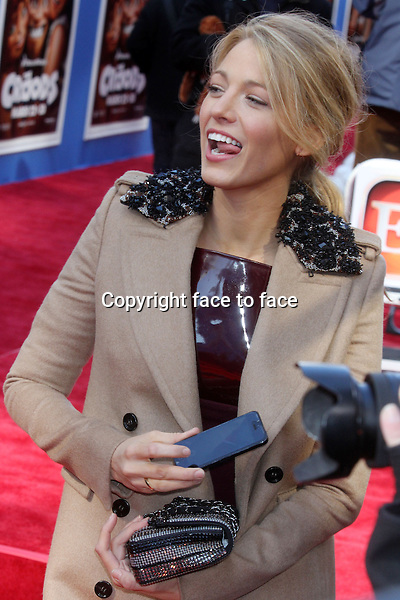 "Blake Lively attends the premiere of ""The Croods"" at AMC Loews Lincoln Square in New York, 10.03.2013...Credit: Rolf Mueller/face to face"
