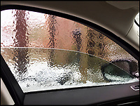 BNPS.co.uk (01202 558833)<br /> Pic: PhilYeomans/BNPS<br /> <br /> Double glazing - Cars were encased in a sheet of ice this morning.
