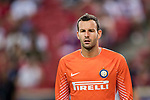 FC Internazionale Goalkeeper Samir Handanovic during the International Champions Cup match between FC Bayern and FC Internazionale at National Stadium on July 27, 2017 in Singapore. Photo by Marcio Rodrigo Machado / Power Sport Images