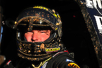 Apr 17, 2011; Surprise, AZ USA; LOORRS driver Rob MacCachren (1) after winning round 4 at Speedworld Off Road Park. Mandatory Credit: Mark J. Rebilas-