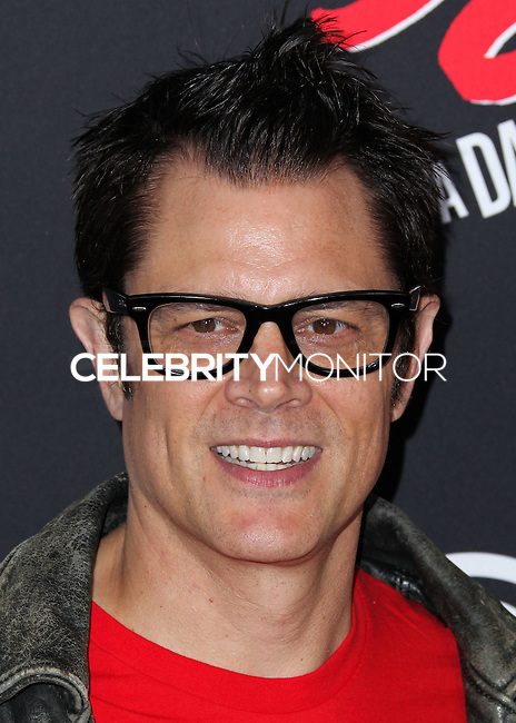 HOLLYWOOD, LOS ANGELES, CA, USA - AUGUST 19: Johnny Knoxville at the Los Angeles Premiere Of Dimension Films' 'Sin City: A Dame To Kill For' held at the TCL Chinese Theatre on August 19, 2014 in Hollywood, Los Angeles, California, United States. (Photo by Xavier Collin/Celebrity Monitor)