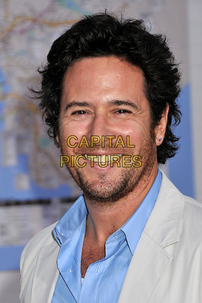 "ROB MORROW.""The Taking of Pelham 123"" Los Angeles Premiere held at Mann's Village Theatre, Westwood, CA, USA..June 4th, 2009.headshot portrait stubble facial hair blue  .CAP/ADM/BP.©Byron Purvis/AdMedia/Capital Pictures."