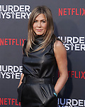 "Jennifer Aniston 059 arrives at the LA Premiere Of Netflix's ""Murder Mystery"" at Regency Village Theatre on June 10, 2019 in Westwood, California"
