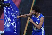 Basketball  1. Bundesliga  2016/2017  Hauptrunde  17. Spieltag  30.12.2016 Walter Tigers Tuebingen - FRAPORT SKYLINERS Frankfurt Boxjubel Shavon Shields (Frankfurt)