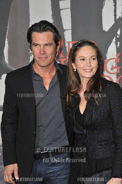 "Josh Brolin & Diane Lane at the Los Angeles premiere of ""Red Riding Hood"" at Grauman's Chinese Theatre, Hollywood..March 7, 2011  Los Angeles, CA.Picture: Paul Smith / Featureflash"