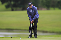 Eddie McCormack (Galway) on the 18th green during the Final of the AIG Barton Shield in the AIG Cups & Shields Connacht Finals 2019 in Westport Golf Club, Westport, Co. Mayo on Saturday 10th August 2019.<br /> <br /> Picture:  Thos Caffrey / www.golffile.ie<br /> <br /> All photos usage must carry mandatory copyright credit (© Golffile | Thos Caffrey)