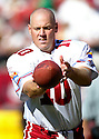 Scott Player during the Cardinals v. 49ers game on October 10, 2004...49ers win 31-28..Rob Holt / SportPics