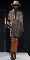 TRINA TURK FALL 2013, Black plu luxe jumpsuit/ Silk Georgette Everly blouse