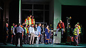 London, UK. 24.09.2015. English National Opera presents LADY MACBETH OF MTSENSK, at the London Coliseum. Directed by Dmitri Tcherniakov. Picture shows: The Company. Photograph © Jane Hobson.