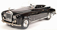BNPS.co.uk (01202 558833)<br /> Pic: EastBristolAuctions/BNPS<br /> <br /> £2500 - Rare Vintage Sharna Tri-ang Rolls Royce Silver Cloud Pedal Car  <br /> <br /> Toy story...<br /> <br /> A remarkable lifetime collection of 30 vintage toy cars has emerged for sale for more than £65,000.<br /> <br /> The fleet of rare pedal cars were acquired over almost half a century by retired car garage owner David Worrow, 72.<br /> <br /> During their time with Mr Worrow they formed what was believed to be the biggest private collection of its kind in the world.