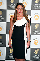 LONDON, UK. March 19, 2019: Michelle Heaton arriving for the Royal Television Society Awards 2019 at the Grosvenor House Hotel, London.<br /> Picture: Steve Vas/Featureflash