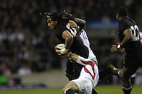 Twickenham. GREAT BRITAIN, Ma'a NONU, during  the 2006 Investec Challenge, game between, England  and New Zealand [All Blacks], on Sun., 05/11/2006, played at the Twickenham Stadium, England. Photo, Peter Spurrier/Intersport-images].....   [Mandatory Credit, Peter Spurier/ Intersport Images].