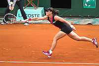 S Stosur ( aus) win against N. Petrova in French Open in Roland Garros. Paris, France Event Date June 1, 2012.