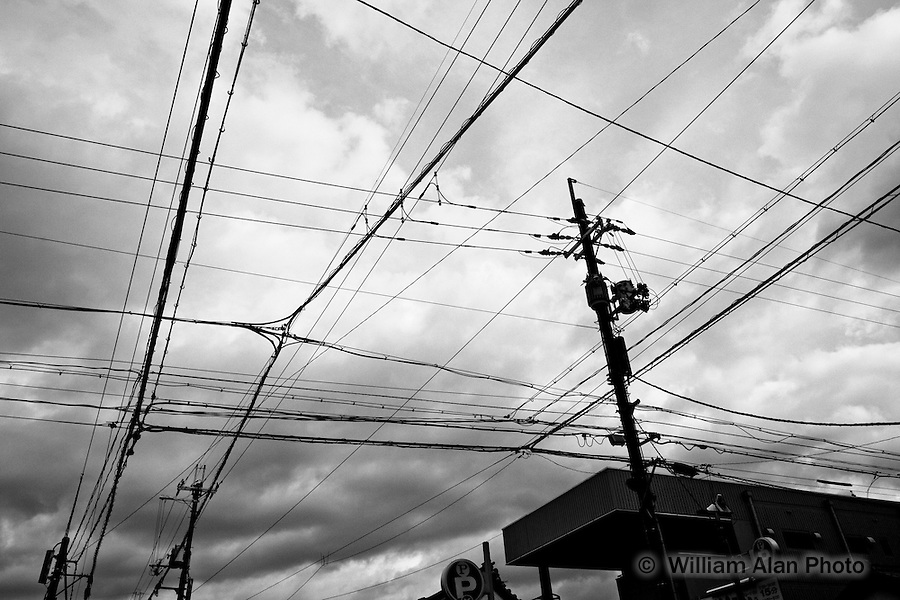 Power grid Nara Japan January 2010