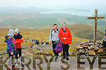 climbing Mount Brandon last Sunday in the first ever Brendan McEvoy memorial walk organised by his wife Claire and Brendan's sisters in aid of Kerry Hospice