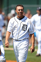 Detroit Tigers minor league player Corey Jones #48 during a spring training game against the Houston Astros at Tiger Town on March 23, 2011 in Lakeland, Florida.  Photo By Mike Janes/Four Seam Images