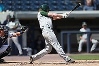 Fort Wayne TinCaps designated hitter Jack Suwinski (2) swings the bat against the West Michigan Michigan Whitecaps during the Midwest League baseball game on April 26, 2017 at Fifth Third Ballpark in Comstock Park, Michigan. West Michigan defeated Fort Wayne 8-2. (Andrew Woolley/Four Seam Images)